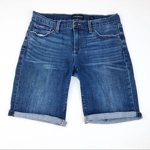 Lucky Brand The Bermuda Denim Shorts Size 8